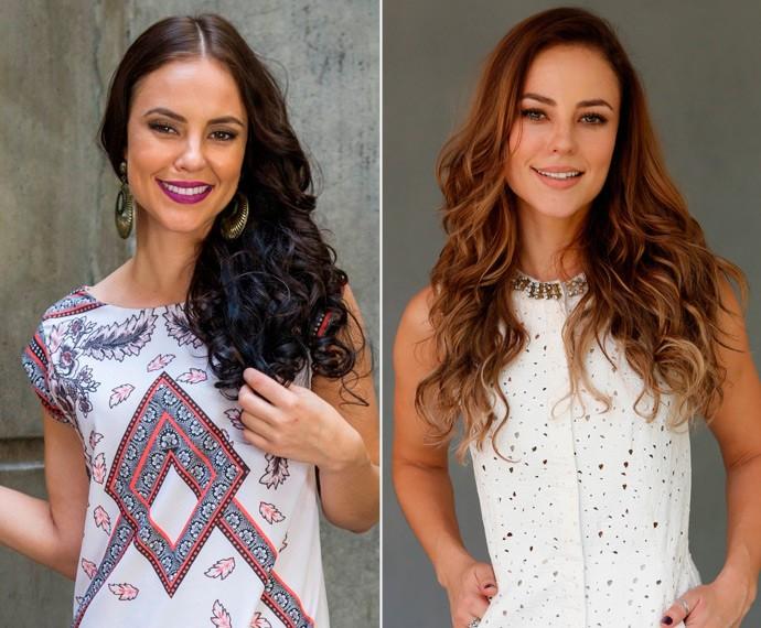 Paolla Oliveira fica loira para o novo tempo da estória (Foto: Estevam Avellar/Globo/Fábio Rocha/Gshow)