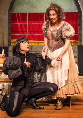 É a primeira vez que a atriz interpreta Shakespeare (Foto: João Caldas )