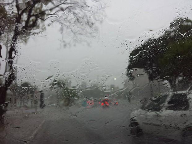 Aesa prevê chuvas de moderadas a fortes (Foto: Maísa Oliveira/G1)