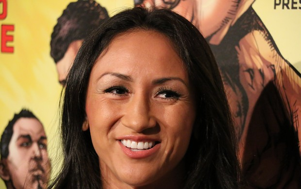 Carla Esparza UFC (Foto: Evelyn Rodrigues)