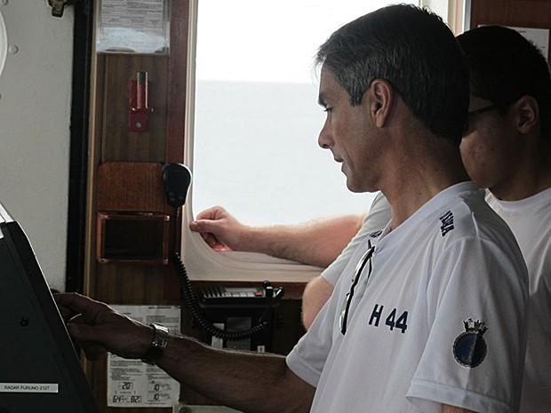 Comandante do Ary Rongel (Foto: Eduardo Carvalho/G1)