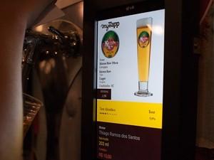 Cervejeiros Choperia Eletrônica Self-Service 2 (Foto: Divulgação myTapp)