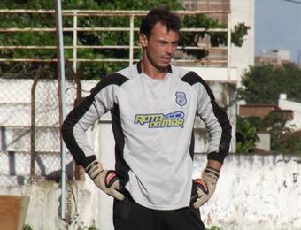 Carlos Luna, goleiro do Treze (Foto: Silas Batista / globoesporte.com/pb)