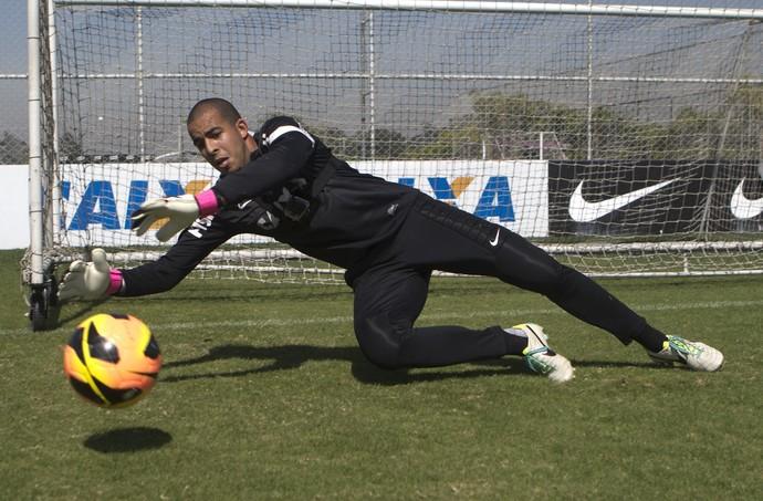 Danilo Fernandes goleiro Corinthians (Foto: Daniel Augusto Jr/Agência Corinthians)