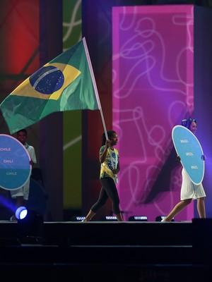 Jogos Pan-Americanos; encerramento; Formiga (Foto: Sergio Dutti/Exemplus/COB)