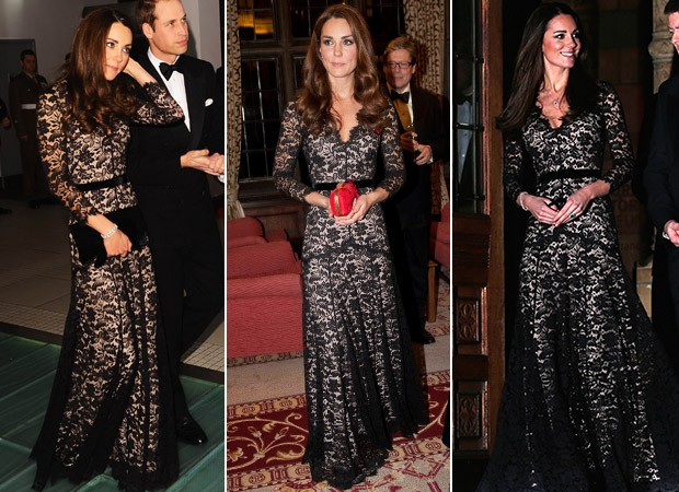 Kate Middleton repete roupa novamente (Foto: Agência Reuters - Agência Getty Images - Agência AFP)