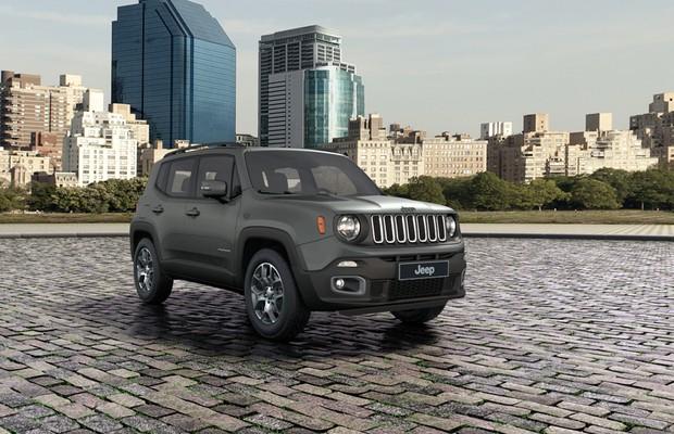 Jeep Renegade agora é oferecido na cor Cinza Antique (Foto: Jeep)