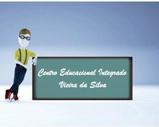 Paulinho da Escola foi conferir construção de CEI em Barra Mansa (Foto: RJTV 1ª Edição)