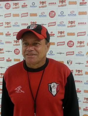 Arturzinho, novo técnico do Joinville (Foto: Karen Couto, RBSTV)