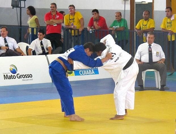 Celso Moyses judô Olimpíadas Escolares Cuiabá (Foto: Ana Carolina Fontes)