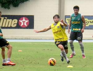 Lodeiro treino Botafogo (Foto: Fred Huber)