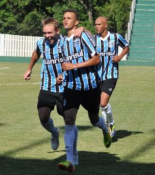 Meia atacante Luan, destaque no time sub-23 do Grêmio  (Foto: Rodrigo Fatturi / Grêmio, DVG)