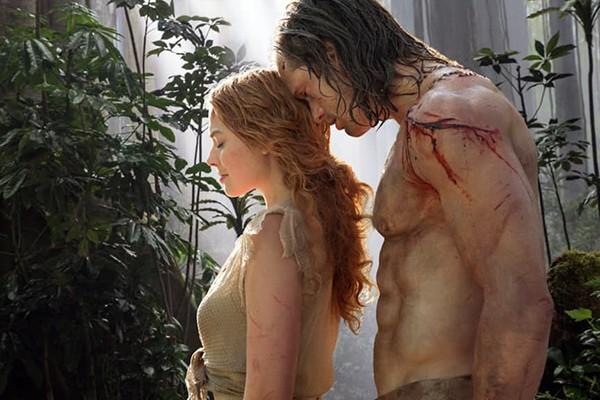 Margot Robbie e Alexander Skarsgard – A Lenda de Tarzan (2016) (Foto: Divulgação)