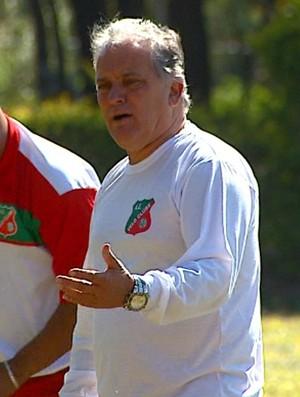 Treinador do Velo Clube, João Vallim (Foto: Wilson Aiello/ EPTV)