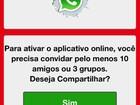 Golpes no WhatsApp podem elevar conta do celular; veja lista e fuja deles