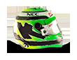 Capacete Formula 1 2016 - Hulkenberg