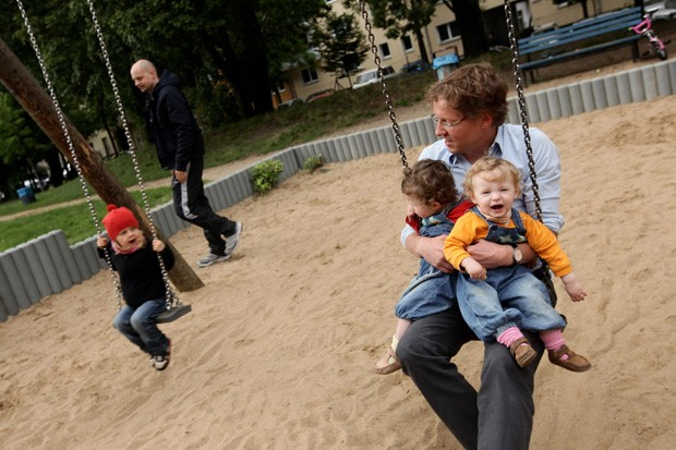 Pais e filhos (Foto: Sean Gallup)