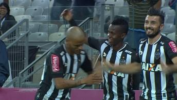 Os gols de Atlético-MG 2 x 1 Corinthians pela 10ª rodada do Brasileirão