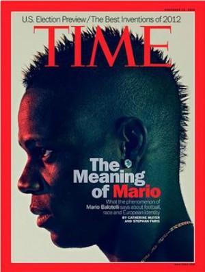 Revista Time com Balotelli na capa (Foto: Reprodução)