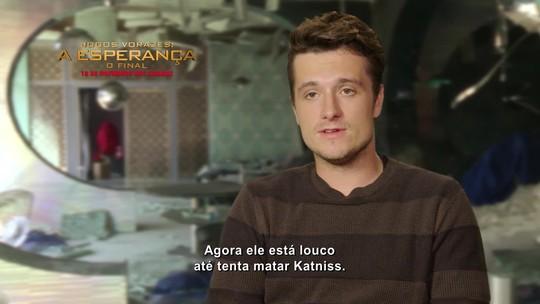 'Jogos Vorazes': em vídeo, atores falam sobre Jennifer Lawrence
