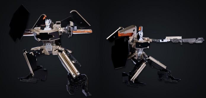 Robô tem peças e movimentos articuláveis (Foto: Divulgação Xiaomi)