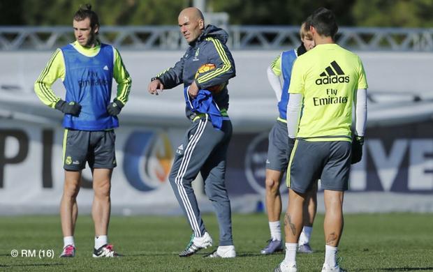 Real Madrid treino Zidane
