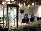 Quadrilha explode caixas eletrônicos de agência bancária em Doverlândia