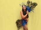 Mary Silvestre vira funkeira e desfila com fantasia de R$ 40 mil no carnaval