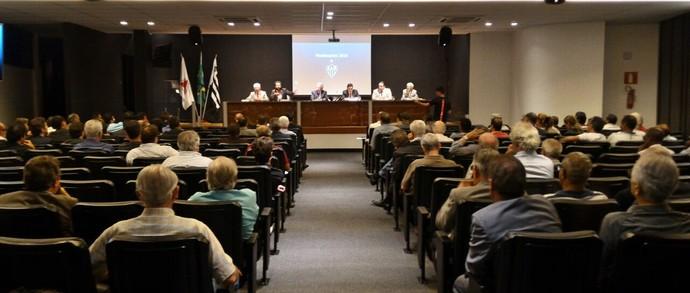 Reunião na sede de Lourdes aprovou orçamento do Atlético-MG para 2017 (Foto: Divulgação/Atlético-MG)