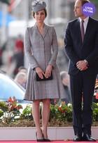 Look do dia: Kate Middleton faz 1ª aparição após anunciar gravidez
