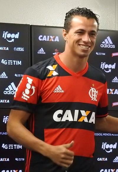 Leandro Damião apresentação (Foto: Fred Gomes/ GloboEsporte.com)