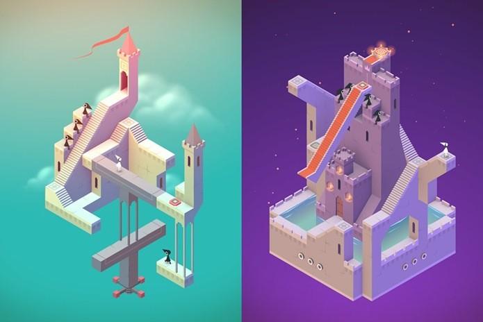 Monument Valley é um jogo bonito e com um conceito único (Foto: Divulgação) (Foto: Monument Valley é um jogo bonito e com um conceito único (Foto: Divulgação))