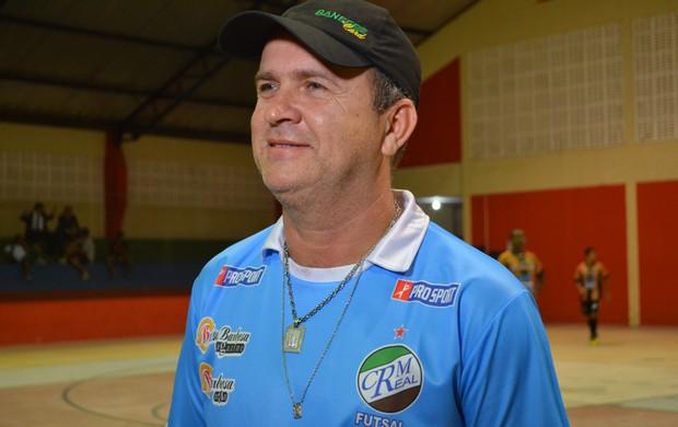 Técnico Galego foi campeão do 1º turno do Sergipanod e Futsal  (Foto: Felipe Martins/GLOBOESPORTE.COM)