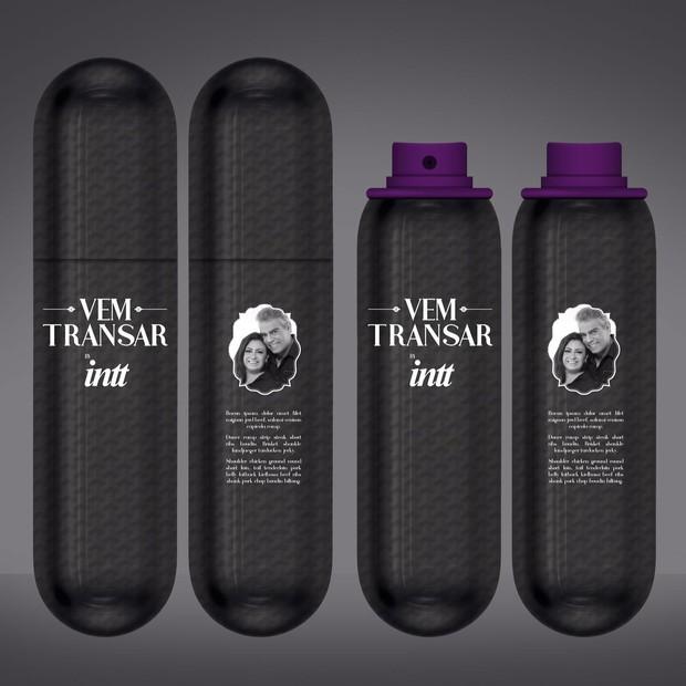 A linha de produtos Vem Transar, de Nizo e Tatiana (Foto: X Tudo Comunicação Completa)