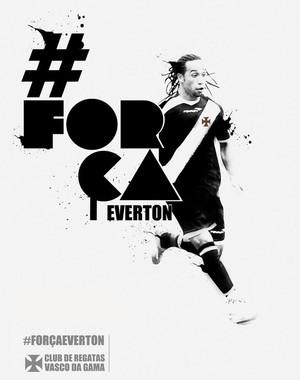 Everton Costa Twitter Vasco (Foto: Twitter)