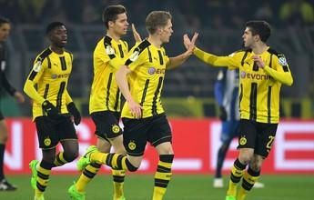 Dortmund vence o Hertha nos pênaltis e se classifica na Copa da Alemanha