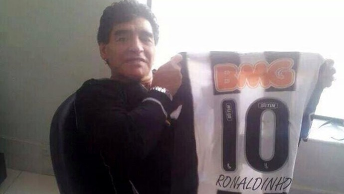 Maradona Camisa Atlético-MG (Foto: Valeska Silva)