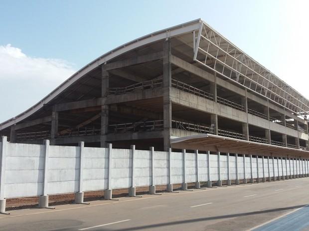 amapá; macapá; aeroporto; infraero; obras; (Foto: John Pacheco/G1)