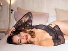 Solteira, Gyselle Soares posa de lingerie: 'Sou mais sexy pela manhã'