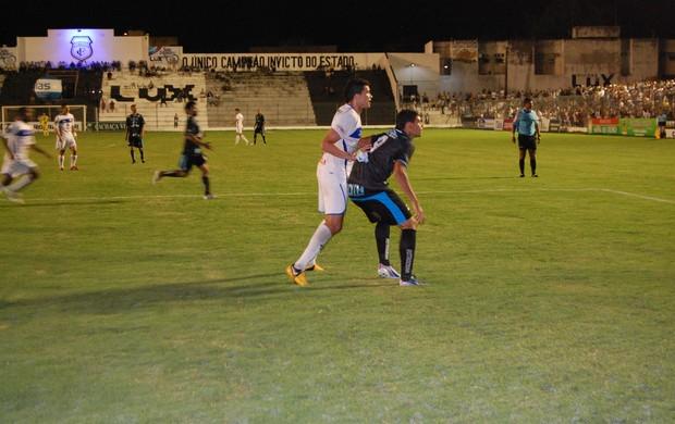 treze, águia de marabá, campeonato brasileiro, série c (Foto: Silas Batista / Globoesporte.com/pb)
