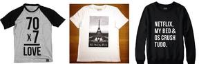 T-shirts (Foto: Divulgação)