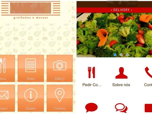 Restaurantes investem em aplicativos para atrair clientes no Acre (Foto: Reprodução)