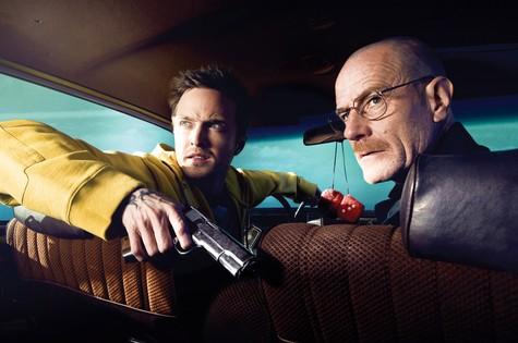 """Jesse e Walther, protagonistas de """"Breaking bad"""" (Foto: Divulgação)"""