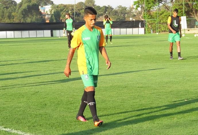 Matheusinho; América-MG (Foto: Divulgação/AFC)