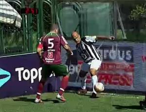 Atlético-MG; Fluminense; Brasileiro de Showbol (Foto: Reprodução SporTV)