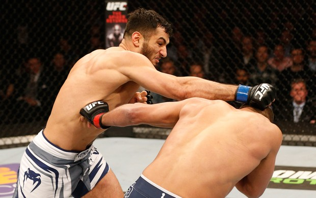 UFC - Henderson x Mousasi (Foto: Josh Hedges / Getty Images)