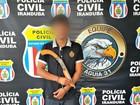 Jovem é preso suspeito de atirar em adolescente de 13 anos, no AM