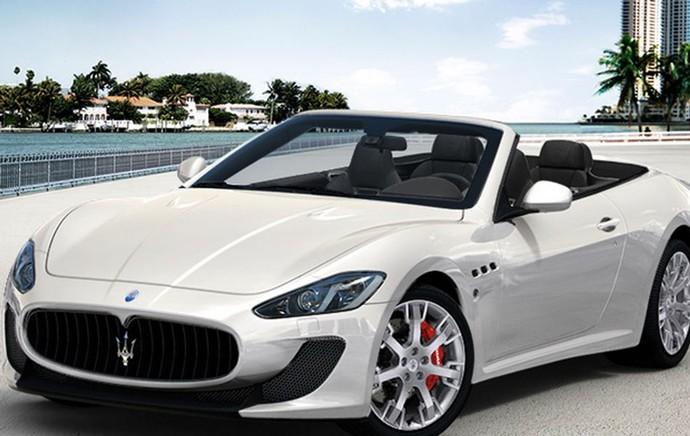 Maserati Gran Cabrio carros de Cristiano Ronaldo (Foto: Divulgação / Site Oficial)