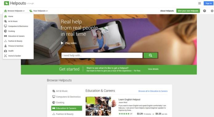 Google Help (Foto: Reprodução/Barbara Mannara)
