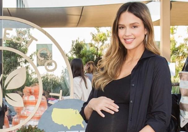 Jessica Alba deu à luz seu terceiro filho (Foto: Instagram/Reprodução)